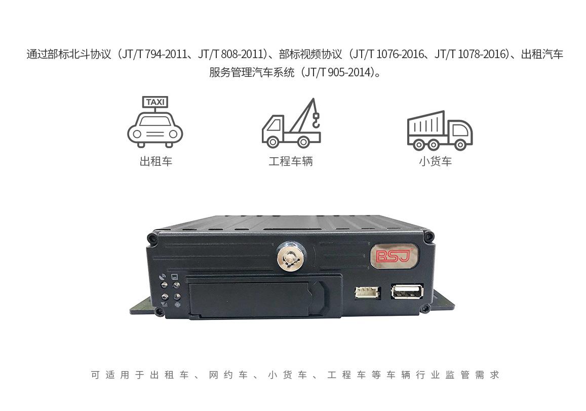 车载视频终端GD02核心功能介绍